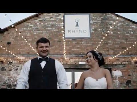 Rob + Clare | Amazing Double Rainbow Wedding | The Rhynd | Leuchars
