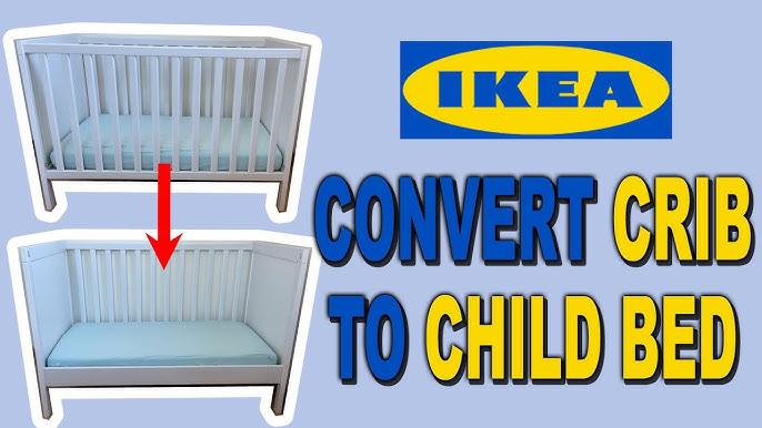 Ikea Babybett Sundvik Als Beistellbett Umbauen So Einfach Gehts Youtube