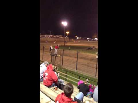 Dustin Shaner @ Sweet Springs Motorsports Complex 5-11-13 (Feature Event) #1