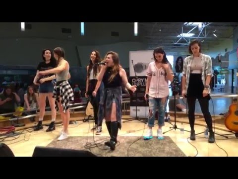 """Cimorelli - """"Renegade"""" live at the Opry Mills Mall in Nashville"""