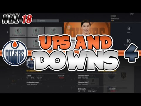 UP AND DOWN STRUGGLES! NEED YOUR HELP! | NHL 18 Edmonton Oilers Franchise Mode Episode 4
