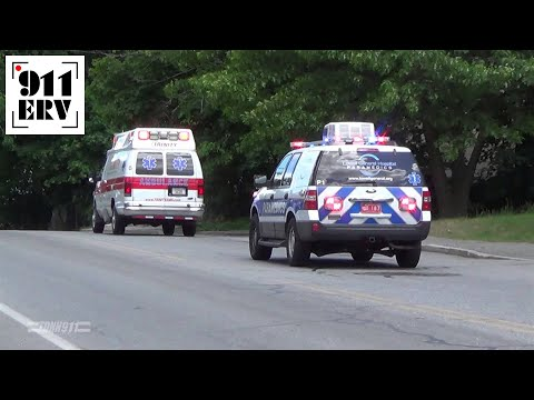 Trinity EMS and Lowell General Hospital Paramedics Responding