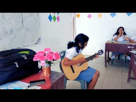 KEREN jiwa musiknya...cover One direction - Perfect ( Rosanta Sinaga)