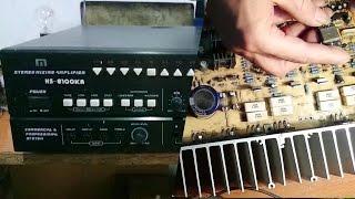 cách sửa amply,tăng âm bị hỏng, repair guide amplifier