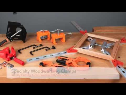 Infinity Cutting Tools - Specialty Woodworking Clamps