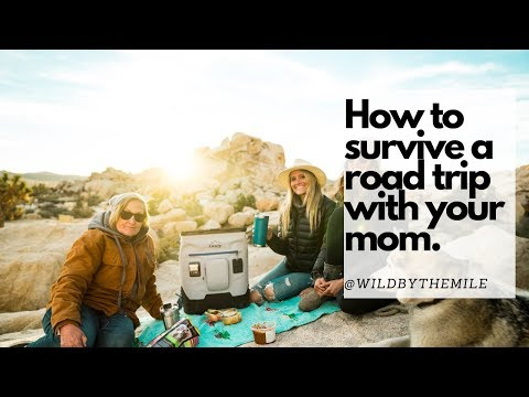 SOLO FEMALE #VANLIFE | HOW TO SURVIVE A ROAD TRIP WITH YOUR MOM