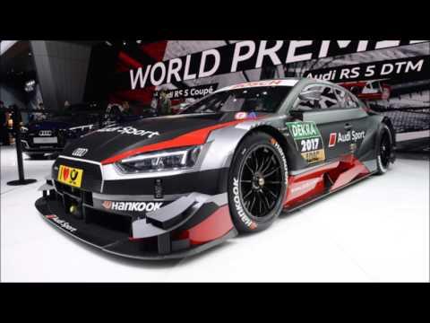 Audi rs5 dtm 2017 - Geneva motor show