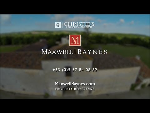 Luxury house for sale in Charente, France.  Maxwell-Baynes Christie's Real Estate ref: 3977475