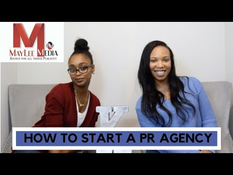How to Start a PR Agency