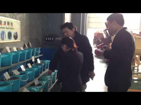 customer visit Zhangqiu yulong machine co.,ltd