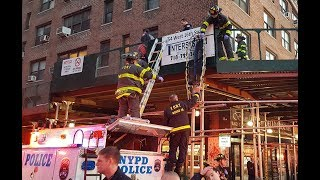 FDNY Rescue of Teen Jumper