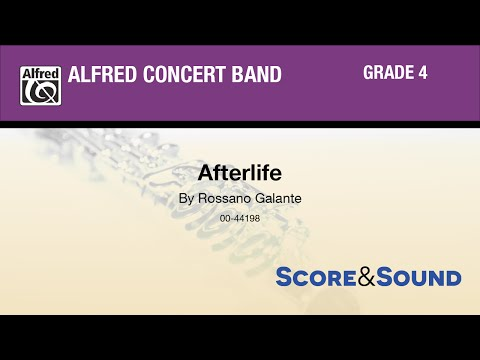 Afterlife, by Rossano Galante - Score & Sound