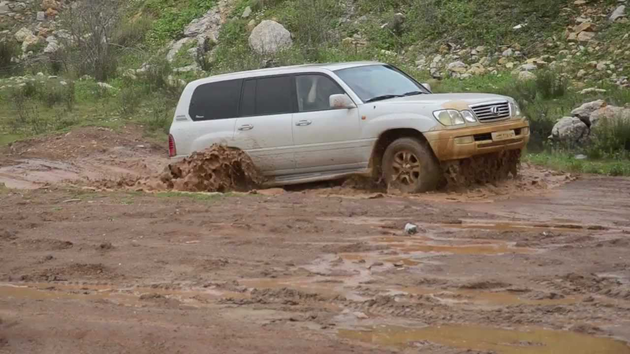 Lexus Lx470 Off Road Youtube