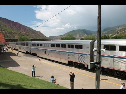 Amtrak Cardinal and California Zephyr - Washington DC - Sacramento, CA