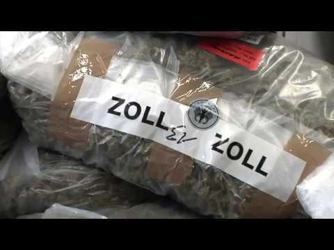 Rekordfund: Zoll findet 550 Kg Marihuana auf der A9 zwischen Hof und München