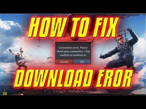 how to fix rules of survival download error