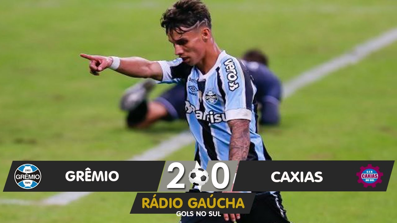 Gremio 2 X 0 Caxias Radio Gaucha 09 05 2021 Youtube