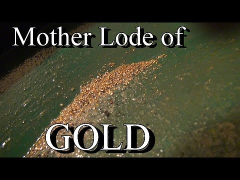 MOTHER LODE OF GOLD !!!! More Drift Mining. Ask Jeff Williams