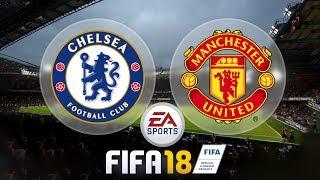 Chelsea vs. Manchester United - Nas PENALIDADES! :O | FIFA 18 - Demo [PT-BR]