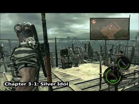 Resident Evil 5 All Treasures Guide [They Belong In A Museum]
