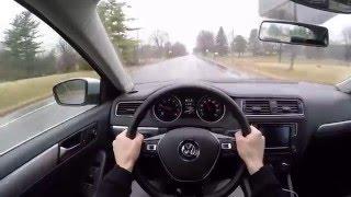 2016 Volkswagen Jetta SE 1.4L Turbo - POV First Impressions