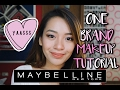 ONE BRAND MAKEUP TUTORIAL - MAYBELLINE   Philippines