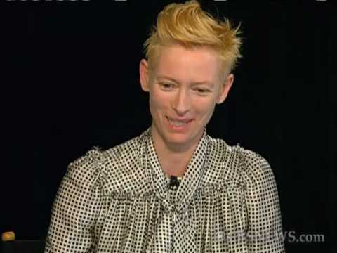 @katiecouric: Tilda Swinton