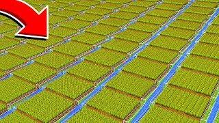 10 SIMPLE AUTOMATIC MINECRAFT FARMS!