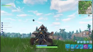 Destroying Tilted with new car!