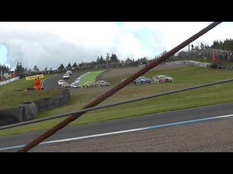 Colin Turkington, Jason Plato Crash Knockhill BTCC 2014