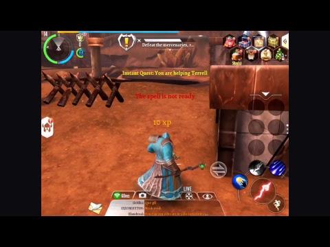 Order & Chaos 2 IOS (IPAD) Game Play