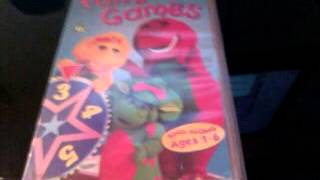 barney videos dvd s and other things of the purple kind part 2