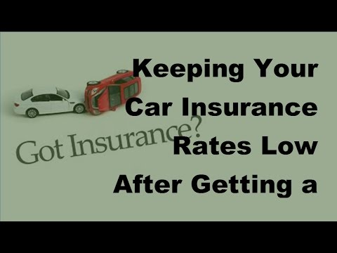2017 Vehicle Insurance |  Keeping Your Car Insurance Rates Low After Getting a Speeding Ticket