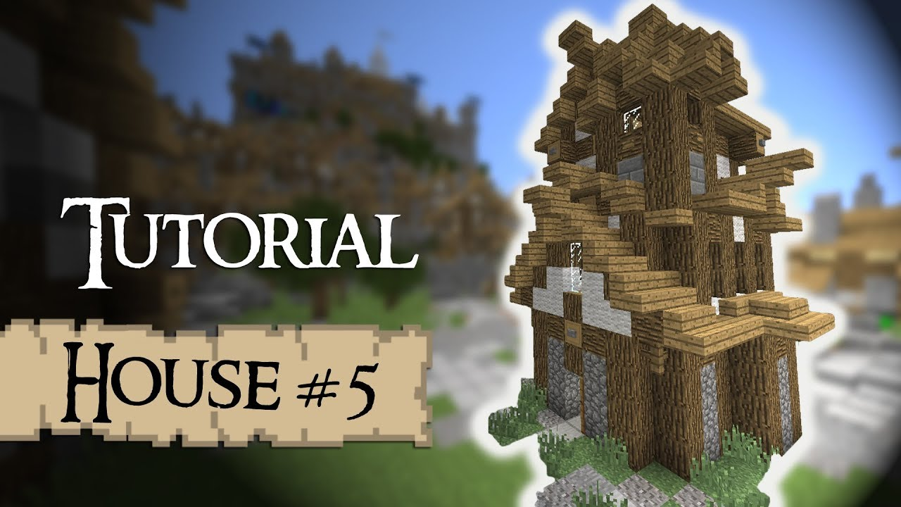 Minecraft Tutorial Medieval House YouTube