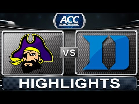 East Carolina vs Duke | 2013 ACC Basketball Highlights Mp3