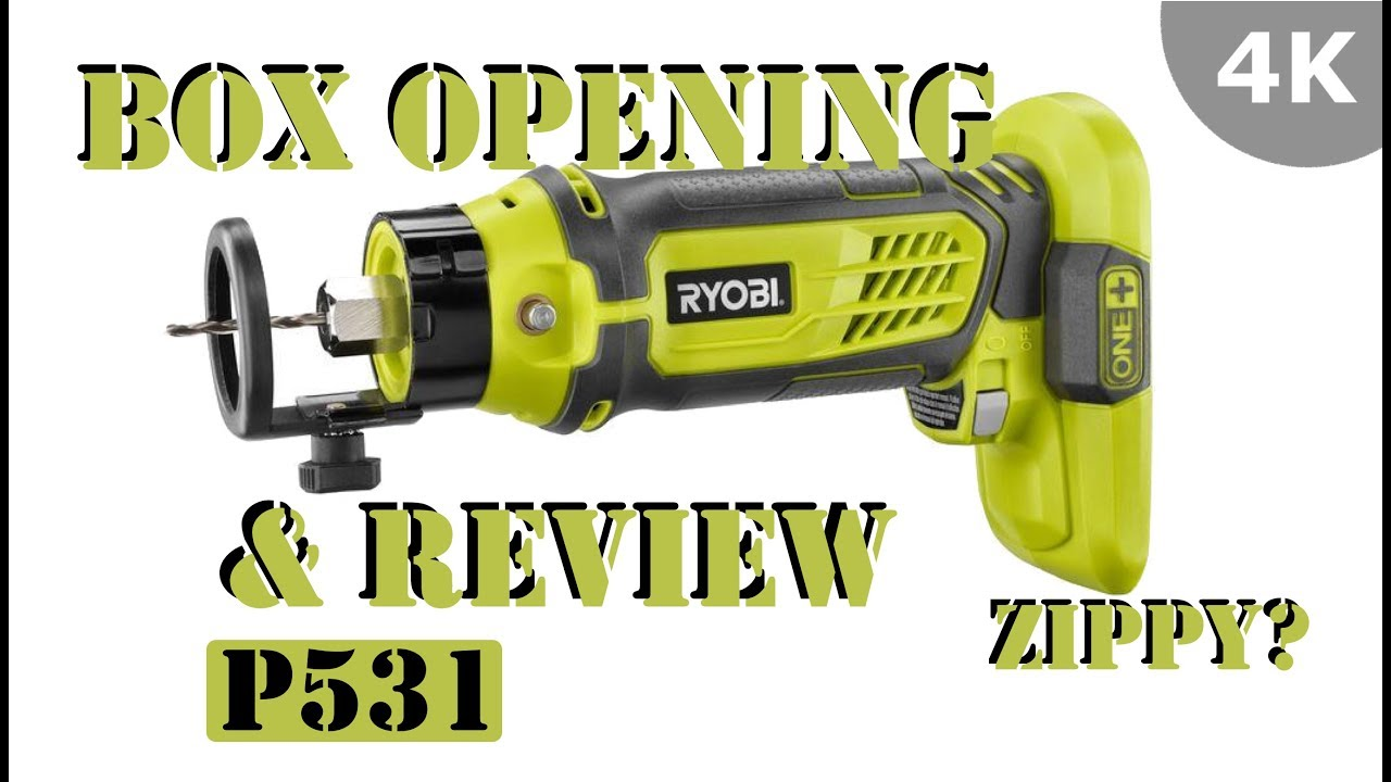 Ryobi 18v One Sd Saw Rotary Cutter Rotozip P531 Review