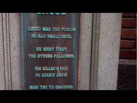 Walt Disney Word's The Haunted Mansion Interactive Queue - Magic Kingdom