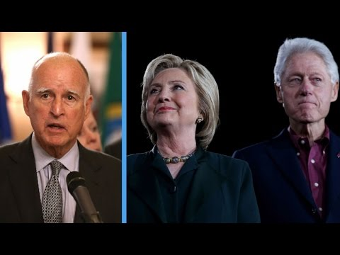 California Gov. Jerry Brown Grits His Teeth And Endorses Clinton