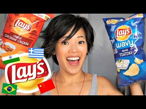 Lay's Global Flavors Potato Chips Taste Test - Passport to Flavor
