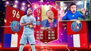 MY WL REWARDS!! 96 TOTS MBAPPE PACKED!! OMG!! FIFA 19