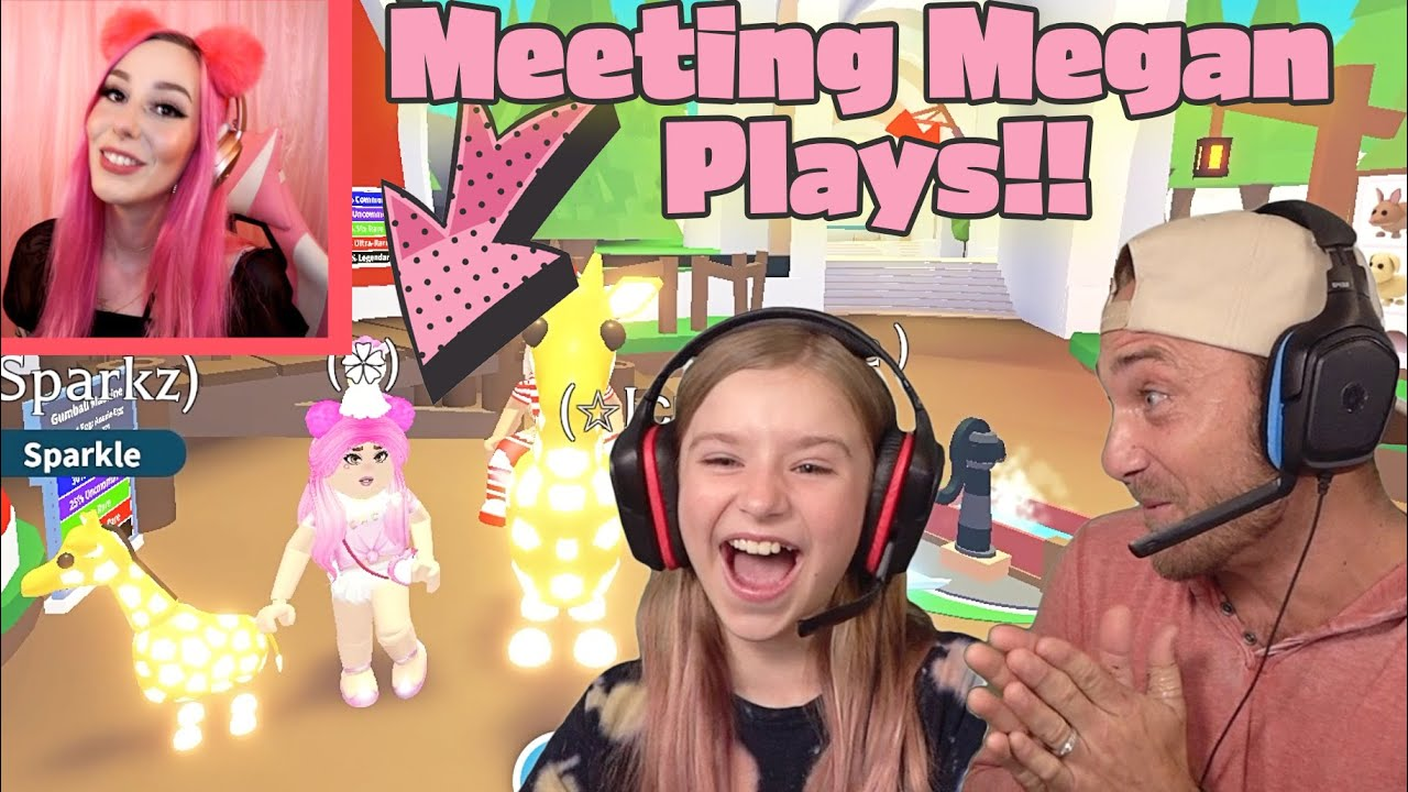 Adopt Me Megan Plays Roblox Avatar 2020 Surprise Dream Come True Playing Adopt Me With Megan Plays Youtube