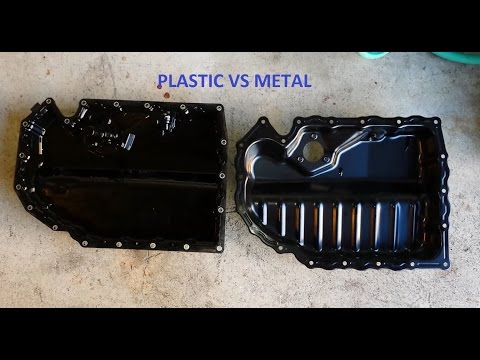 Installation: Plastic to Metal oil replacement oil pan for MK7 Golf R/GTI