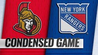 11/26/18 Condensed Game: Senators @ Rangers