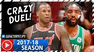 Dion Waiters 26 Pts vs Kyrie Irving 23 Pts Duel Highlights (2017.11.22) Celtics vs Heat - CRAZY!