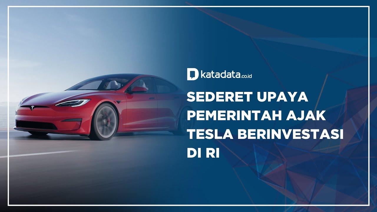 Target Indonesia Jadi Pemain Utama Industri Mobil Listrik Dunia Otomotif Katadata Co Id