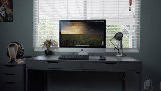 Ultimate Minimalist iMac 5k Setup 2018!