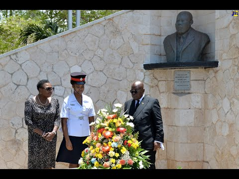 Nana Akufo-Addo Celebrates Marcus Mosiah Garvey - Big Up GHANA
