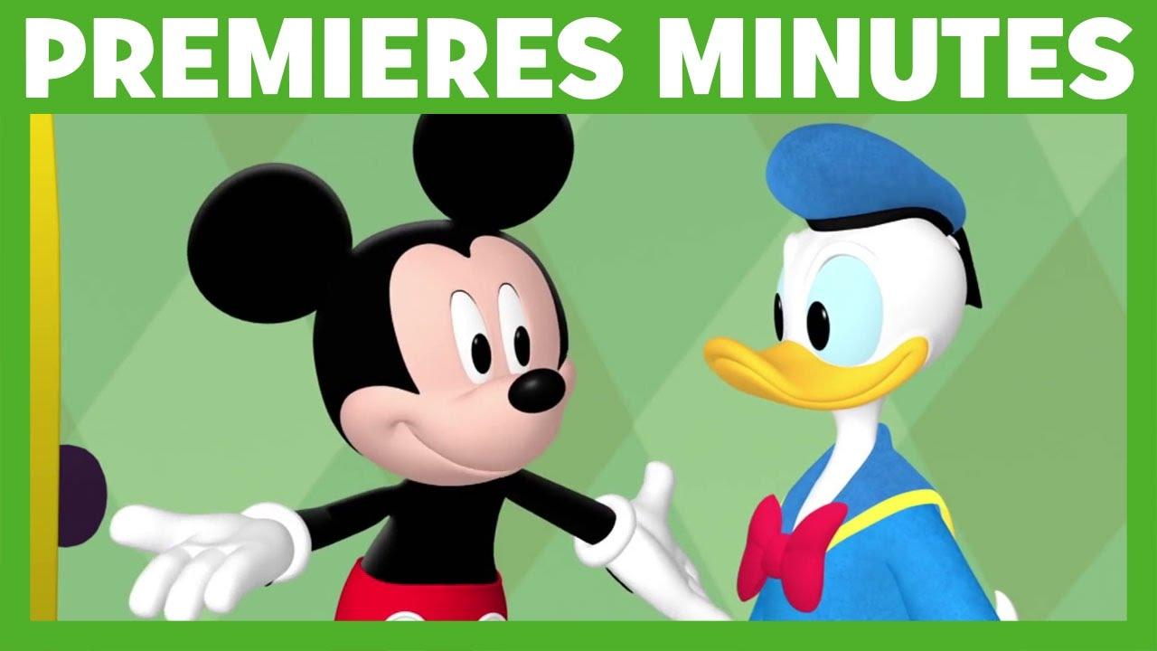 La Maison De Mickey Premieres Minutes La Nouvelle Maison De Donald Youtube