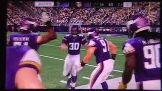 Madden 17 Indianapolis Colts vs Minnesota Vikings