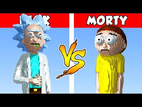 RICK vs MORTY – PvZ vs Minecraft vs Smash